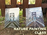 Nature Painting Class at Timber! (Saturday)