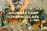 REI Gourmet Camp Cooking Workshop at Timber!