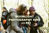 REI Sunset/Moonlight Photography Hike at Timber!